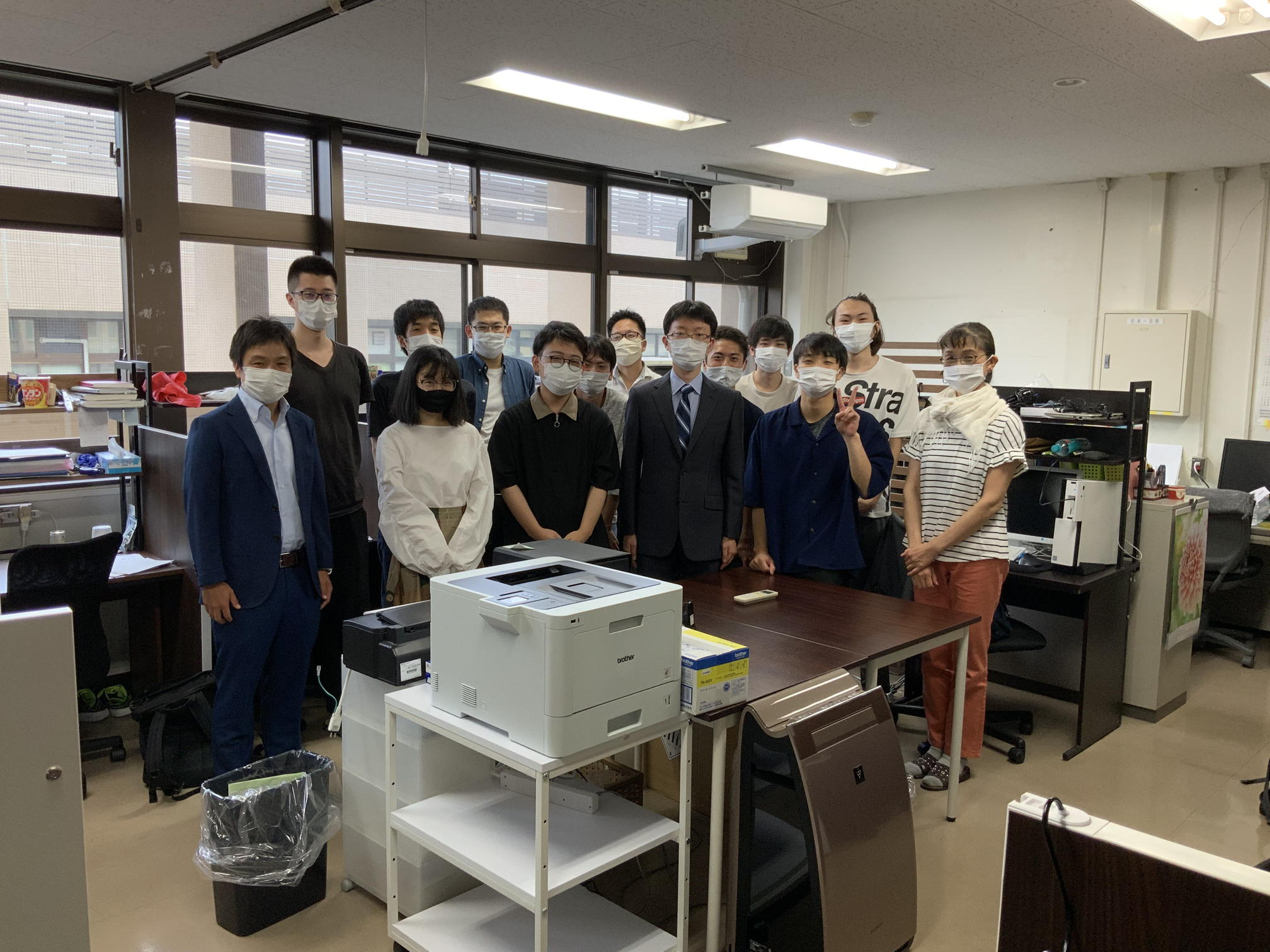 尾崎先生が着任しました。